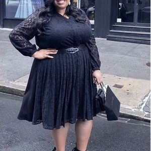 Lane Bryant x Girl with Curves Lace Dress